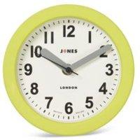 Jones clocks Fab Lime green Analogue clock
