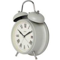Jones Rise & shine Grey Quartz Alarm clock