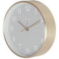 Jones Contemporary Bronze effect Quartz Mantle clock