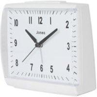 Jones Dreamland White Quartz Alarm clock