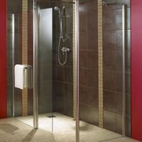 Aquadry Shower End panel (H)1850mm (W)900mm