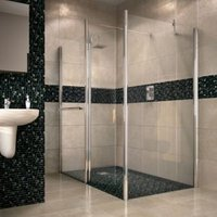 Aquadry Shower End panel (H)2015mm (W)700mm
