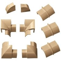 D-Line ABS Plastic Wood-Effect Trunking Accessories (W)30mm Pieces Of 9