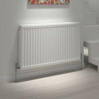 Kudox Type 21 Steel panel Type 21 Panel radiators White  (H)600mm (W)1600mm