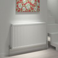 Kudox Type 22 double Panel radiator White  (H)700mm (W)1200mm
