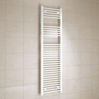 Kudox White Towel Warmer (H)1600mm (W)450mm