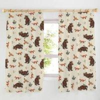 The Gruffalo Pencil Pleat Curtains (W)167cm (L)137cm