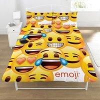 Emoji Smiley Yellow Double Bedding set
