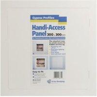 Gyproc Profilex White Plastic Access panel (H)300mm (W)300mm