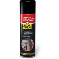 Rooftrade Black Emergency Roof Repair Aerosol 0.45L