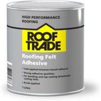 Rooftrade Black Roofing Felt Adhesive 1000ml