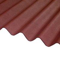 Corrubit Red Bitumen Corrugated Roofing sheet (L)2m (W)930mm (T)2.2mm