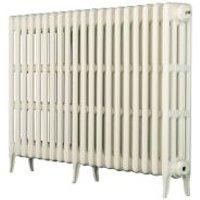 Arroll Neo-Classic 4 Column radiator White (W)1114mm (H)760mm