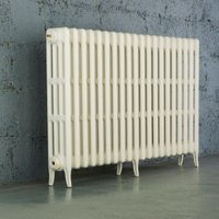 Arroll Neo-Classic 4 Column radiator  White (W)1114mm (H)760mm