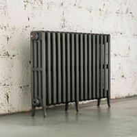 Arroll Neo-Classic 4 Column radiator  Cast grey (W)994mm (H)660mm