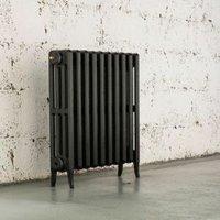 Arroll Neo-Classic 4 Column radiator  Pewter (W)754mm (H)660mm