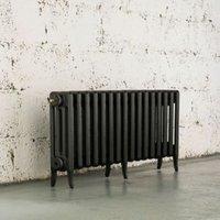 Arroll Neo-Classic 4 Column radiator  Pewter (W)874mm (H)460mm