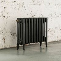 Arroll Neo-Classic 4 Column Radiator  Pewter (W)754mm (H)460mm