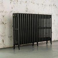 Arroll Neo-Classic 4 Column radiator  Anthracite (W)1234mm (H)660mm