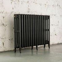 Arroll Neo-Classic 4 Column radiator  Anthracite (W)874mm (H)660mm