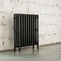 Arroll Neo-Classic 4 Column radiator  Anthracite (W)634mm (H)660mm