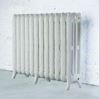 Arroll Montmartre 3 Column radiator  White (W)994mm (H)760mm