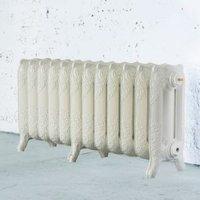 Arroll Montmartre 3 Column Radiator  Cream (W)994mm (H)470mm
