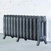 Arroll Montmartre 3 Column Radiator  Cast Grey (W)994mm (H)470mm