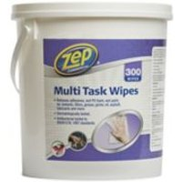 Zep Commercial Unscented Multisurface wipes Pack of 300