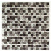 Bruges Mosaic tile sheets (L)150mm (W)110mm