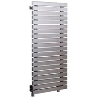 Accuro Korle Dune Vertical Radiator Stainless Steel (H)990 mm (W)500 mm