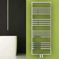 Carisa Frame Towel warmer (H)1350mm (W)500mm
