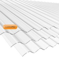 Clear Polycarbonate Roofing Sheet 2.44M x 840mm