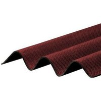 Corrapol-BT Red Bitumen Corrugated Roofing sheet (L)2m (W)930mm (T)2mm