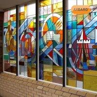 AXGARD Clear Polycarbonate Flat Glazing sheet  (L)3.05m (W)1m (T)2mm