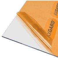 AXGARD Clear Polycarbonate Flat Glazing sheet  (L)2m (W)1m (T)3mm