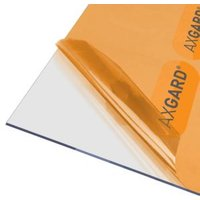 AXGARD Clear Polycarbonate Flat Glazing sheet  (L)2.5m (W)0.62m (T)3mm