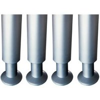 IT Kitchens (H)150mm Silver Cabinet Legs  Pack