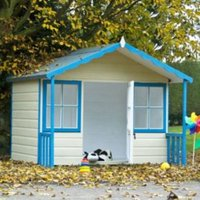 6X4 Woodbury Playhouse with Assembly Service