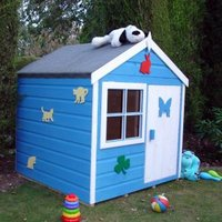 Woodbury 4X4 Playhouse - with Assembly Service