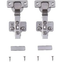 Cooke & Lewis 165 Concealed Integrated appliance cabinet hinge Pack of 2