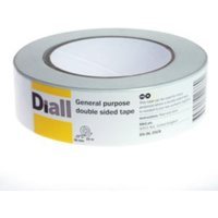 Diall White Double Sided Tape (L)25M (W)36mm