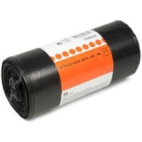 BandQ Black Plastic Rubbish Bag 75L  Roll Of 50