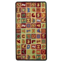 Colours Carmine Multicolour Alphabet Playmat (L)1.5m (W)800mm