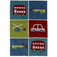 Colours Arion Multicolour Transport Rug (L)1.2m (W)800mm