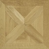 Staccato Natural Oak Parquet Effect Laminate Flooring 0.113 m² Sample