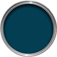 Colours Interior & Exterior Marine Blue Gloss Wood & Metal Paint 750ml
