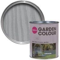 Colours Garden Anthracite Matt Woodstain 0.75L