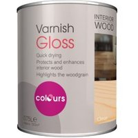 Colours Clear Gloss Interior Varnish 750ml