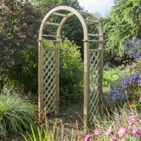 Blooma Softwood Round Top Arch with Assembly Service